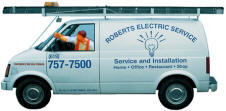 San Diego Electrician in Service Truck